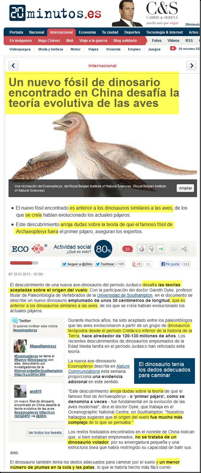El eosinopteryx, el nuevo fraude de dino-ave en la teoría de la evolución Image_thumb40