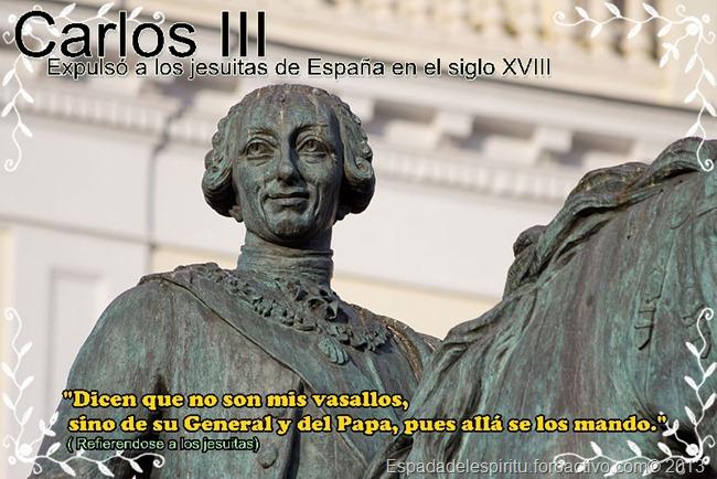 """Citas de Franco con pseudónimo """"J. Boor"""" en el libro """"Masonería"""" Carlos-iii-jesuitas_thumb"""