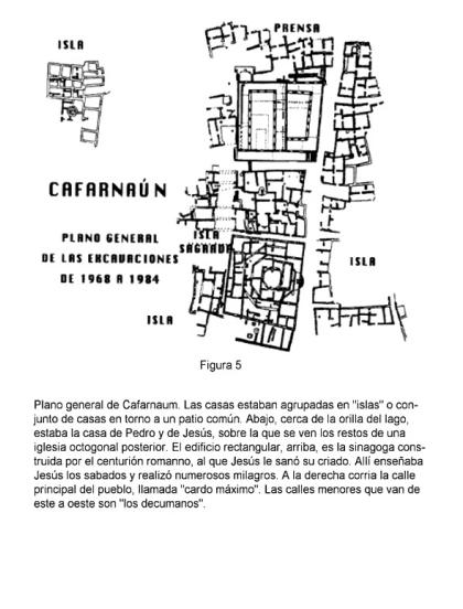 La casa de Simon Pedro en Cafarnaúm donde vivió Jesús Image15