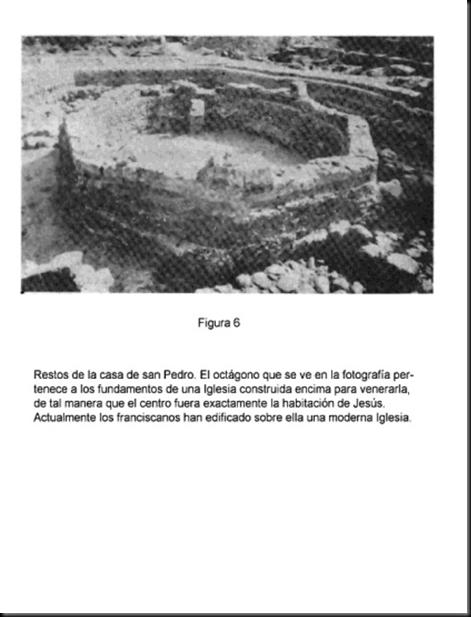 La casa de Simon Pedro en Cafarnaúm donde vivió Jesús Image_thumb16