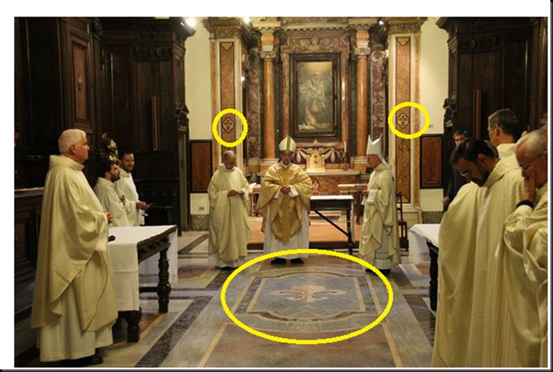 Significado de la Flor de Lis: Puerta de Isthar, la Vulgata y la trinidad, ¿algo en común? Image_thumb10