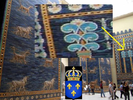 Significado de la Flor de Lis: Puerta de Isthar, la Vulgata y la trinidad, ¿algo en común? Image_thumb2