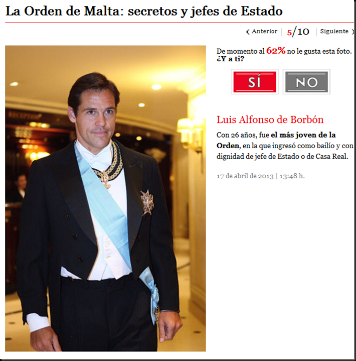 El principe Felipe, nuevo Felipe VI, la Casa Real Española y la Orden de Malta Image_thumb5