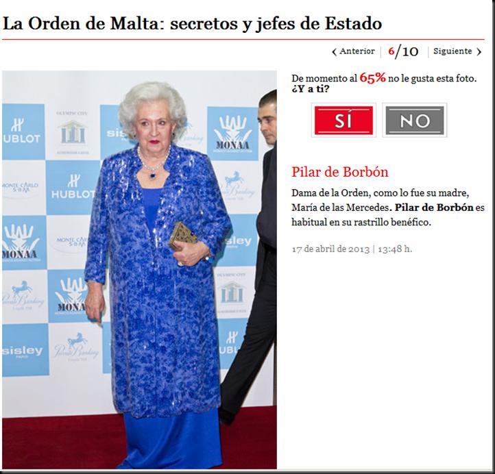 El principe Felipe, nuevo Felipe VI, la Casa Real Española y la Orden de Malta Image_thumb6