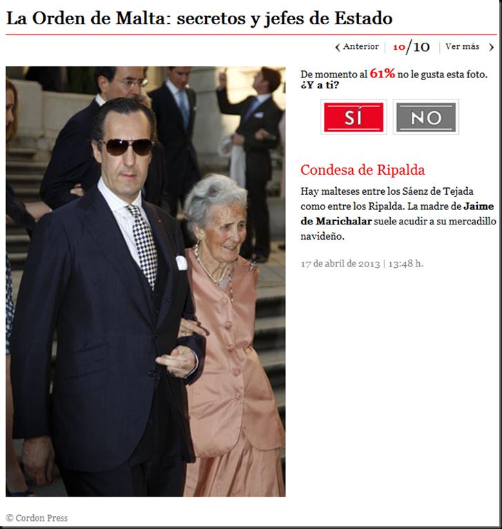 El principe Felipe, nuevo Felipe VI, la Casa Real Española y la Orden de Malta Image_thumb7