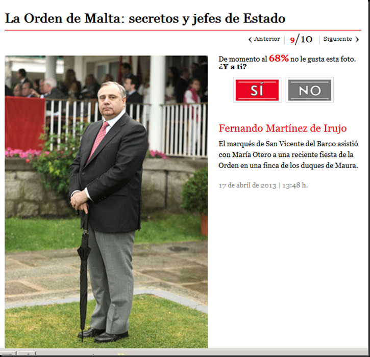 El principe Felipe, nuevo Felipe VI, la Casa Real Española y la Orden de Malta Image_thumb8