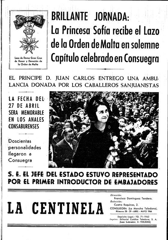 El principe Felipe, nuevo Felipe VI, la Casa Real Española y la Orden de Malta 9cb0b-portadaslacentinela-abri-mayo19665-tif