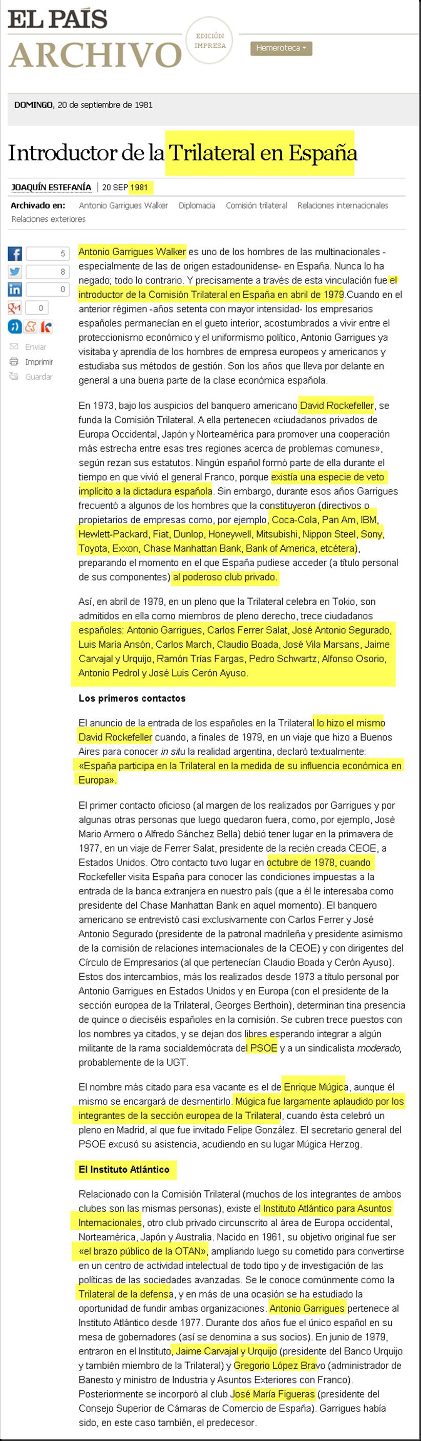"""""""Introducción de la Trilateral en España, (El País, 20/09/1981) Image_thumb14"""