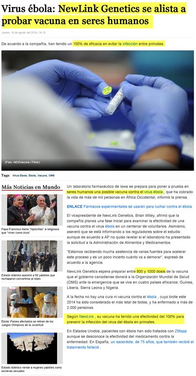 Newlink Genetics Corporation: El creador de la vacuna del ébola Image3
