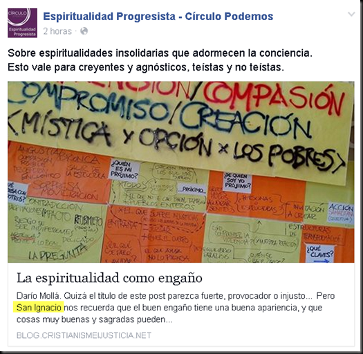 "Podemos relacionado con el grupo jesuita ""Cristianisme i justicia"" Image_thumb18"