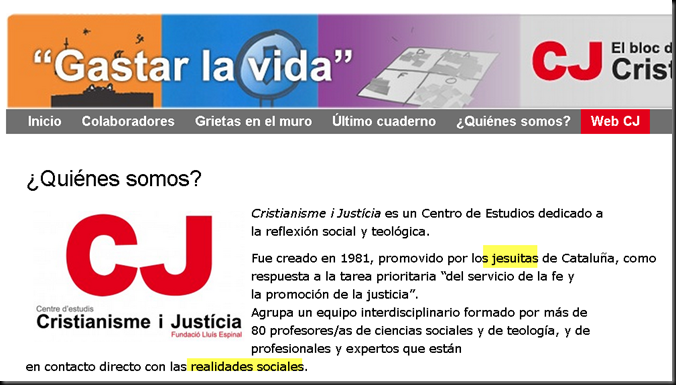 "Podemos relacionado con el grupo jesuita ""Cristianisme i justicia"" Image_thumb19"
