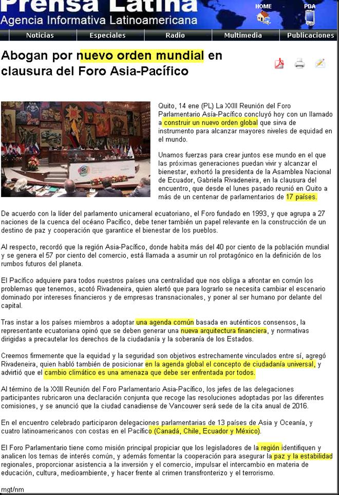 Foro Asia-Pacífico abogan por un Nuevo Orden Mundial (Prensa Latina, 2015/01/14) Image_thumb28